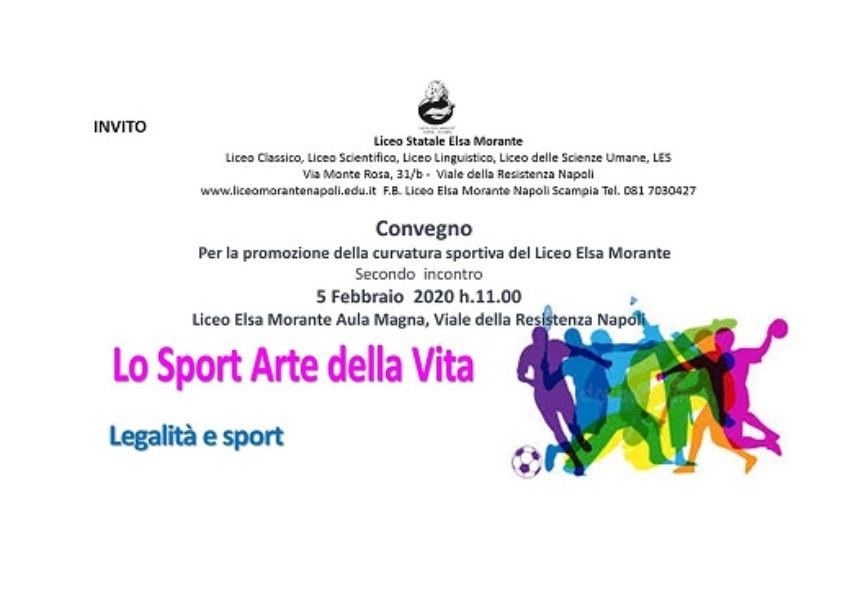 """Convegno   """"Lo Sport Arte della Vita"""" secondo i..."""