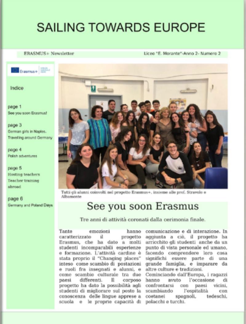 Newsletter Erasmus + N.2 Anno 2