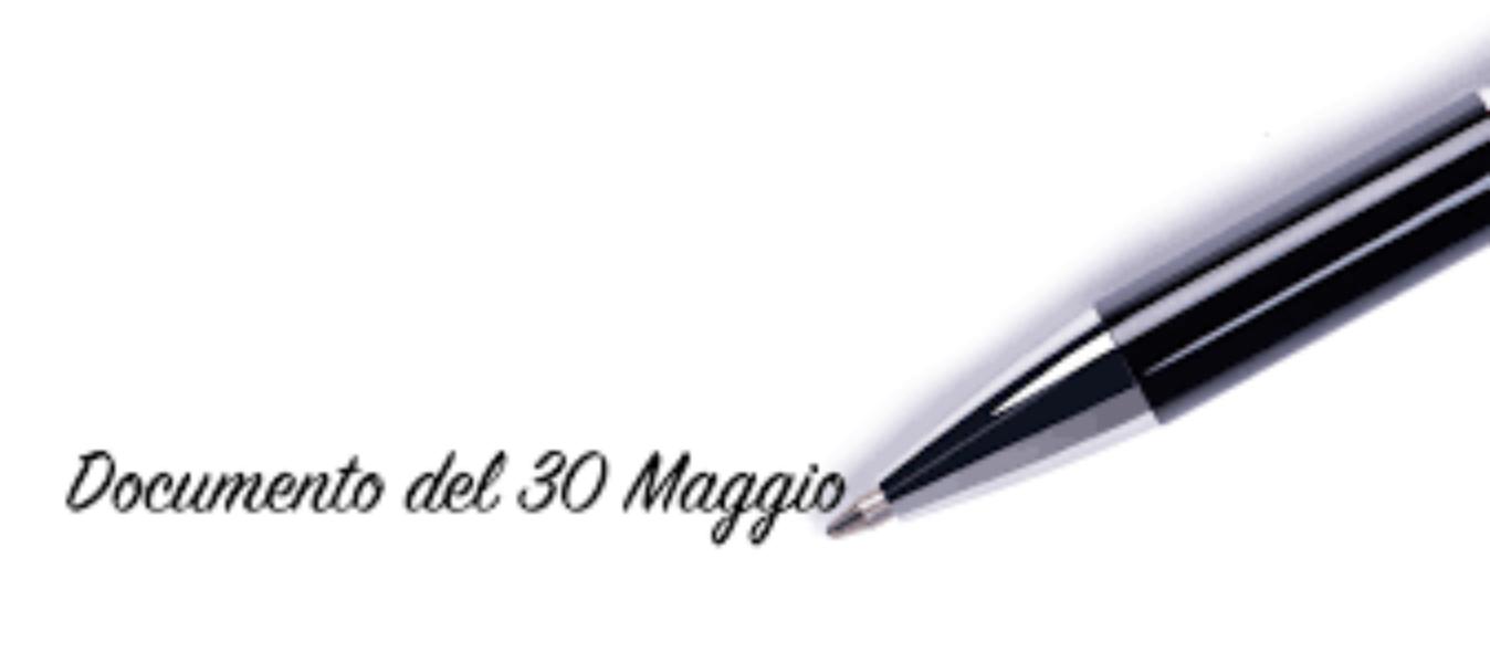 DOCUMENTI DEL 30 MAGGIO  A.S. 2019/2020