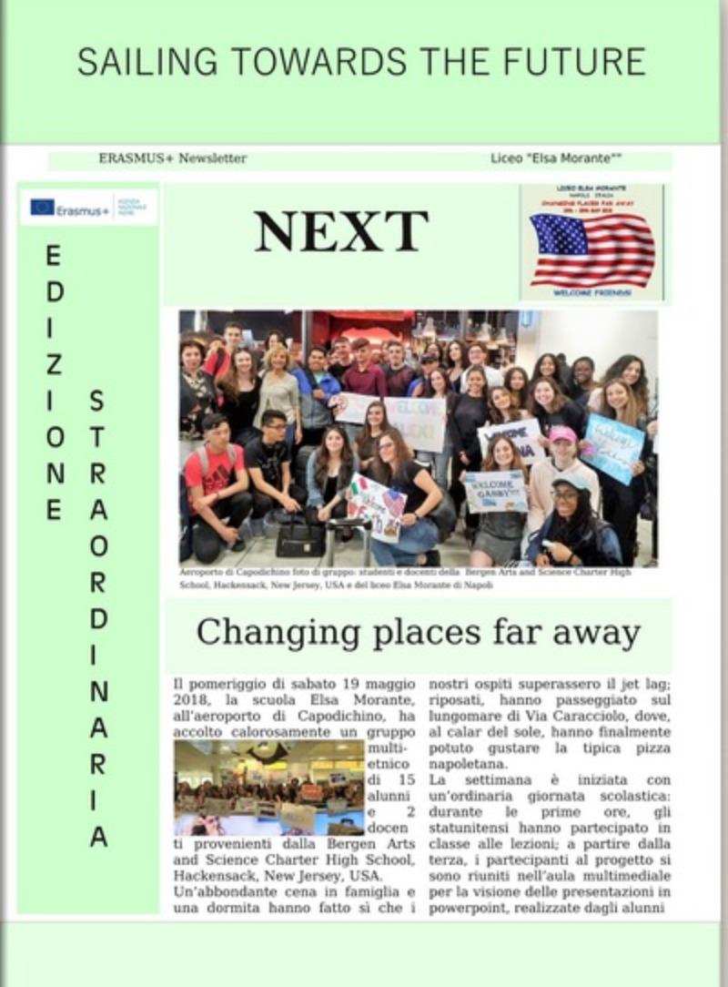 Newsletter Erasmus.  Edizione straordinaria