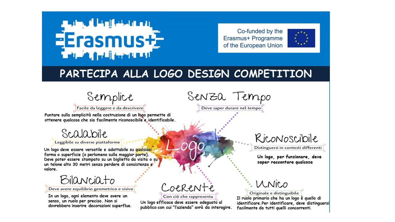 Erasmus + : Logo Design Competition