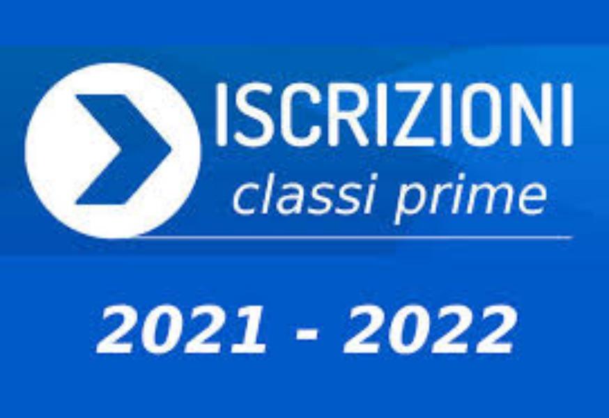 Iscrizioni on Line anno scolastico 2021/2022 – Classi prime