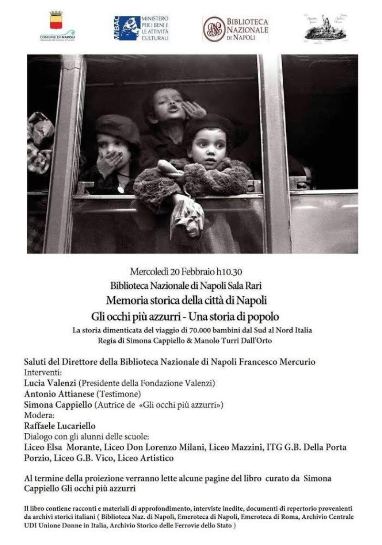 Memoria storica di Napoli: Gli occhi azzurri- S...