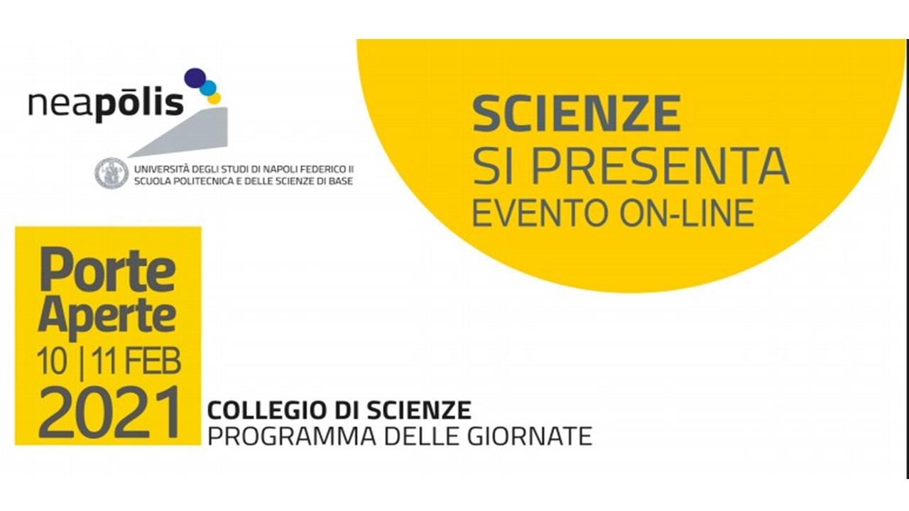 Open day  per la scuola: Scienze, Biologia, Biotecnologia, Chimica - Federico II